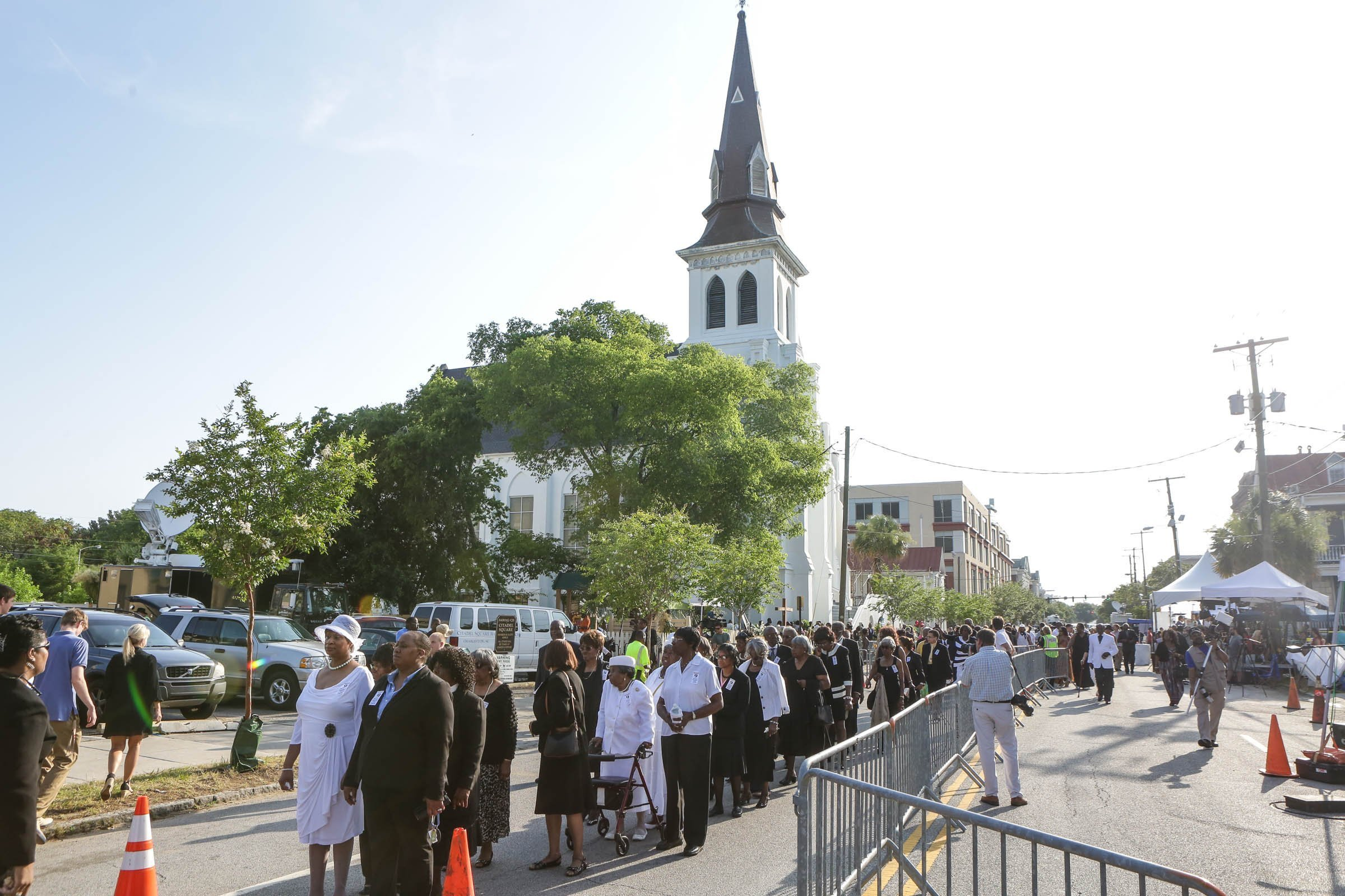 Charleston remembers victims on church shooting anniversary