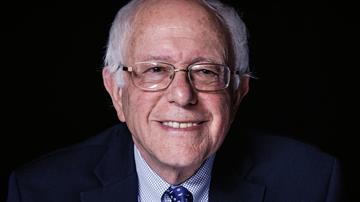 Caption: 2016 presidential candidate Bernie Sanders.